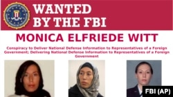 U.S. -- This image provided by the FBI shows part of the wanted poster for Monica Elfriede Witt