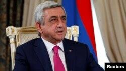 Серж Саргсян, Армения президенті.