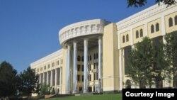 Здание Государственной консерватории Узбекистана.