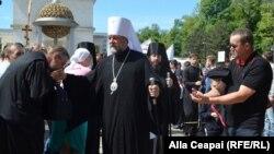 Metropolitul Vladimir la Marșul de la Chișinău