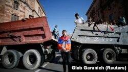 2 травня в Вірменії пройшло зі страйком, блокадою інфраструктури і мітингами