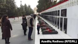 Алея мучеників у Баку