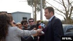 Председатель грузинской стороны на встречах в Гали Шота Утиашвили