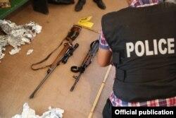 Під час затримання, фото поліції Косова