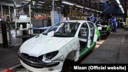 Iran Khodro car factory, 2018. File photo