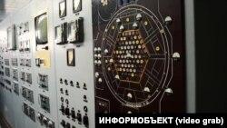 Прилади для вимірювання даних реактора, фото 2007 року