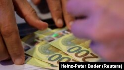 Kartmonedha prej 200 eurosh. Fotografi nga arkivi.