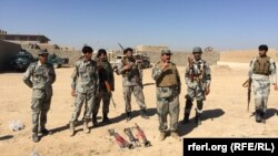 Militari afgani la instrucție în provincia Helmand