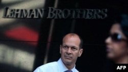 ورشکستگی بانک «لمان برادرز» بازارهای مالی جهان را دچار تکان های شدیدی کرد.(عکس: AFP)
