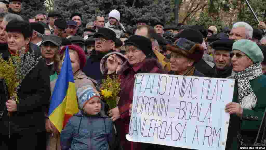 """5 aprilie 2015. Miting organizat de Platforma Civică """"Demnitate și Adevăr"""""""