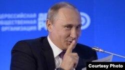 Путин Ставропольдә Гомумрусия халык фронты форумында