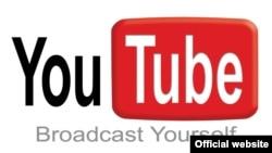 YouTube сайтының белгісі. (Көрнекі сурет).