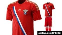 Ресей футбол командасының формасы.