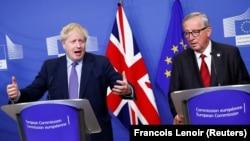 Predsjednik Evropske komisije Jean-Claude Juncker i britanski premijer Boris Johnson: novi sporazum o Brexitu