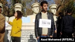 Protestë kundër dhunës seksuale në Irak