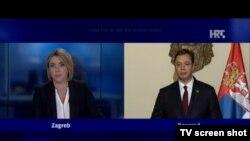 Aleksandar Vučić na HRT-u