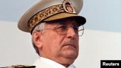 Președintele croat Franjo Tudjman, 30 mai 1995