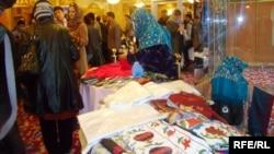 نمایشگاه محصولات زنان تجارت پیشه افغانستان