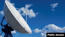 World -- Satellite dish, generic image