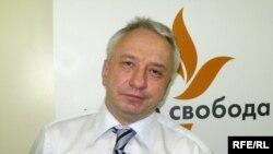 Олексій Кучеренко у студії Радіо Свобода