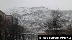 Snijeg u Mostaru
