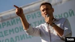 """Один из лидеров """"Демократической коалиции"""" Алексей Навальный"""