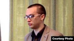 Блогер Игорь Сычев на суде по обвинению в призывах к сепаратизму. Риддер, ноябрь 2015 года.