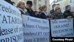 Митинг в Варшаве 1 марта