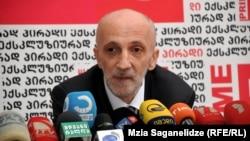 Гия Хухашвили, бывший советник Бидзины Иванишвили.