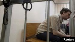 Михаил Косенко во время слушаний в суде в мае 2013 года