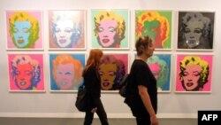 Fransada Andy Warhol-un sərgisi, 2001
