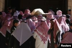 Похороны короля Абдуллы. 23 января 2015 года