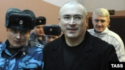 July 25: The European Court of Human Rights is scheduled to announce its judgment concerning the second application lodged with it by Mikhail Khodorkovsky and Platon Lebedev.