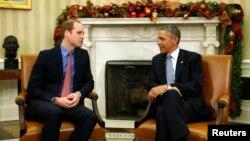 Presidenti amerikan, Barak Obama dhe Princi William i Britanisë