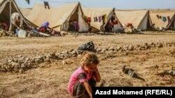 Një qendër refugjatësh nga komuniteti jazid