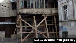 В исторических районах грузинской столицы проблема «опасных» зданий стоит особенно остро