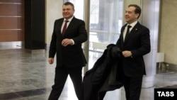 Медведев - Сердјуков