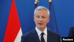 Bruno Le Maire, francuski ministar ekonomije