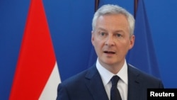 "French Economy Minister Bruno Le Maire has suggested that the EU need to defend its ""economic sovereignty"" when it comes to the right to trade with Iran. (file photo)"