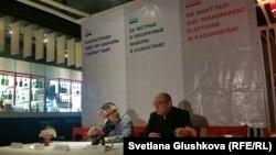 Сайлауалды үгіт-насихат жүргізу ережесі туралы Этикалық кодекске қол қоюға қатысушылар. Астана, 14 наурыз 2016 жыл.