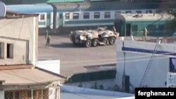 Тошкентнинг Шимолий темир йўл вокзали ҳудудида ўтказилган аксил террор машқи, 2012 йил 4 май.
