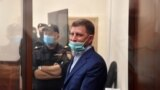 Губернатор Хабаровского края Сергей Фургал в суде, 10 июля 2020 г.