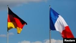 Flamuri i Gjermanisë dhe Francës, foto nga arkivi.