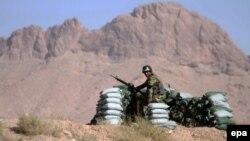 Афганский пограничный пост, 19 августа 2015 года.