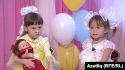 Ижауның татар бакчасына йөрүче балалар
