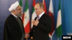 H.Rouhani və V.Putin