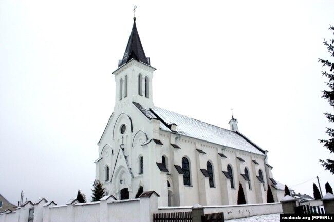 Касьцёл у Косаве, дзе быў ахрышчаны Касьцюшка