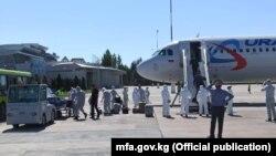 Аэропорт «Манас». 22 мая 2020 года.