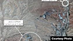 Իրան - Փարչինի ռազմականացված գոտու արբանյակային լուսանկարը, արխիվ