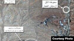 تصاویر ماهوارهای از پارچین؛ ظن آن میرود که در گذشته آزمایشهایی اتمی با ابعاد نظامی در این تاسیسات انجام شده است
